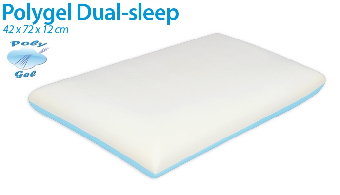 Подушка polygel-dual-sleep